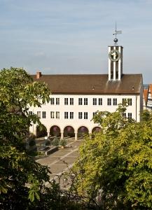 Altes Rathaus Quellenangabe - Bildarchiv Stadt Böblingen Foto Hellbardt